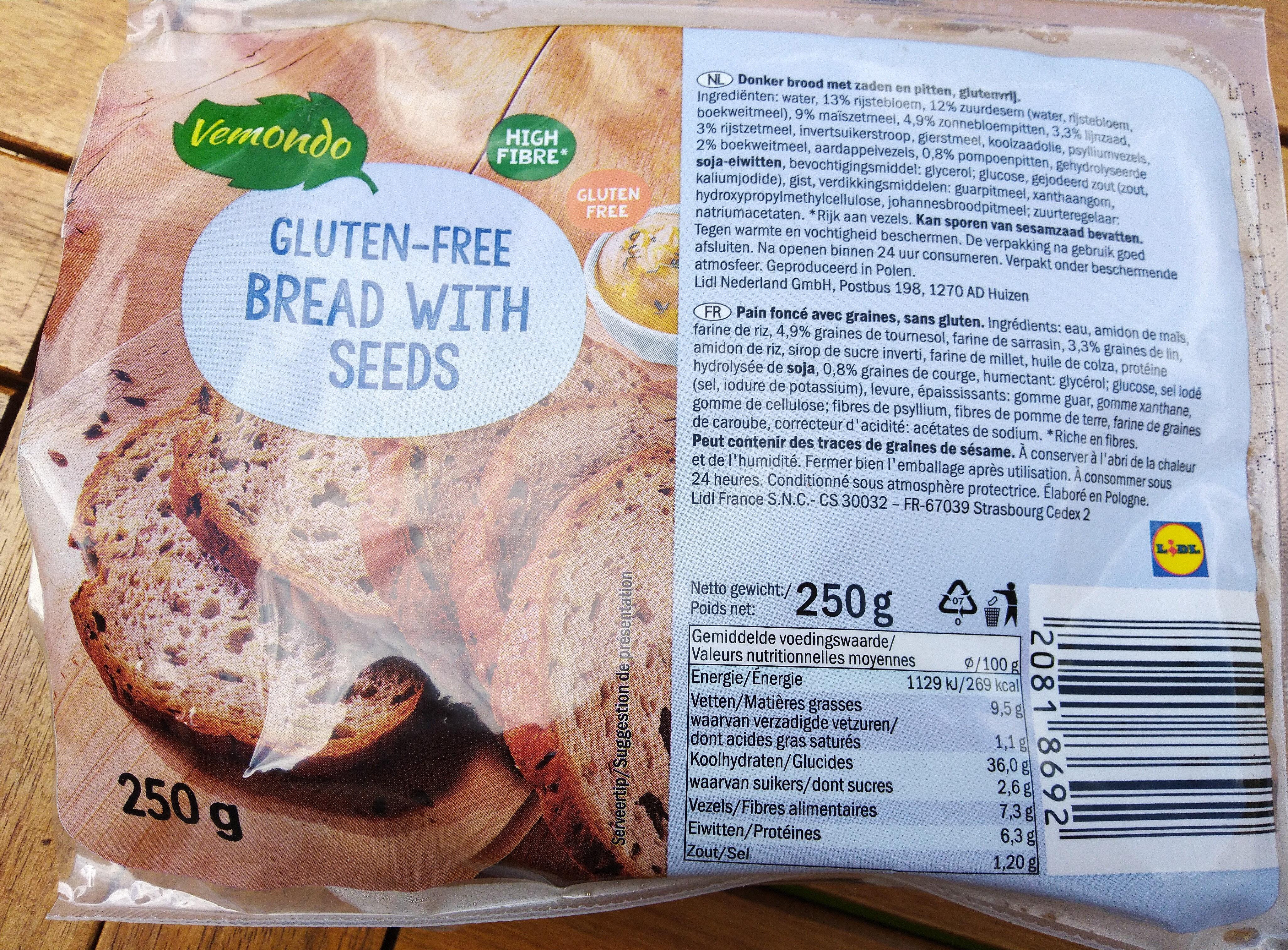 Pain complet sans gluten - Produto - pt