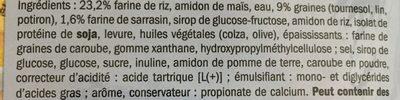 Pain complet sans gluten - Ingrédients - fr