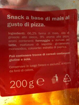 Palline di mais alla pizza - Ingrediënten