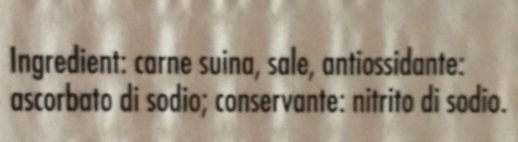 Pancetta dolce a cubetti - Ingrediënten - fr