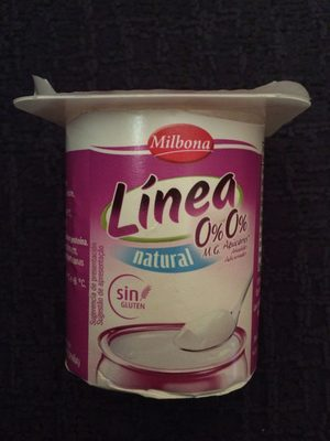 Linea natural 0 % - Producto