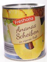 Ananas Scheiben im eigenen Saft - Product - de