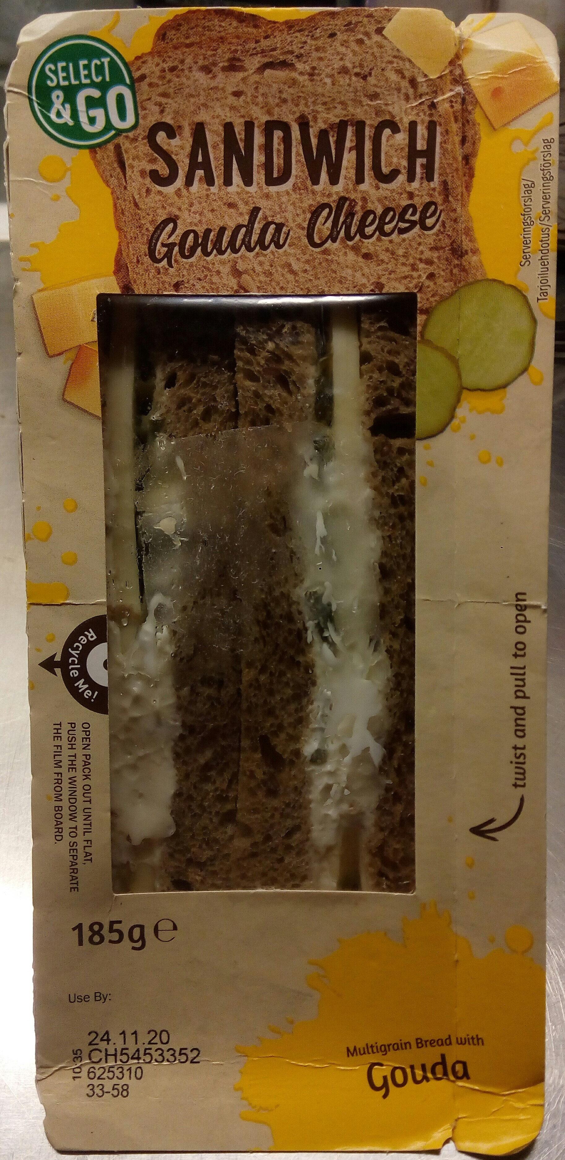 Select & Go Sandwich Gouda Cheese - Produit - sv