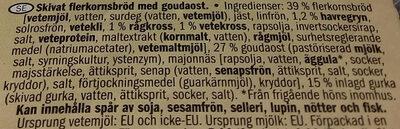 Select & Go Sandwich Gouda Cheese - Ingrédients - sv