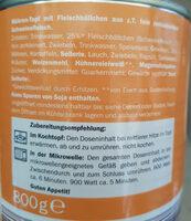 Möhren - Topf - Ingredients