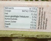 Bio fresh Eggs - Nutrition facts