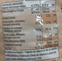 Dinkel Penne - Información nutricional - es