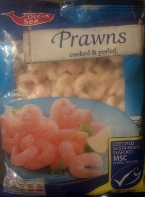 Prawns - cooked & peeled - Product - en