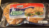 4 burger bruns multigrain - Produit - fr