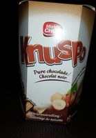 Knuspo dark chocolate - Produit - fr