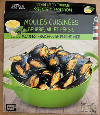 Moules cuisinées Beurre, Ail et Persil - Product - fr