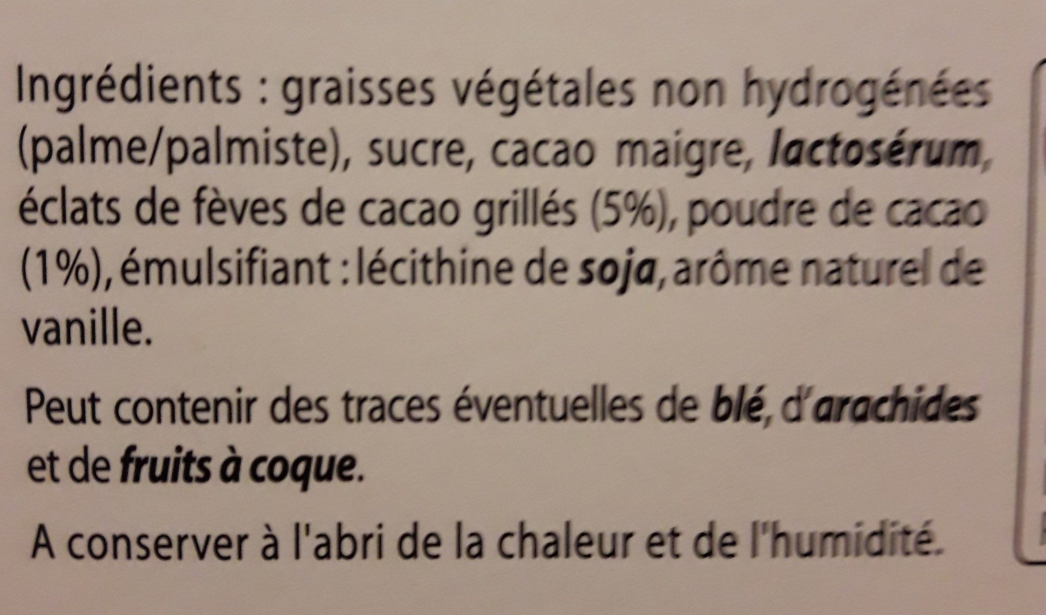 Truffes fantaisies - Ingredients - fr