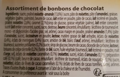 Expressions gourmandes - Ingredients