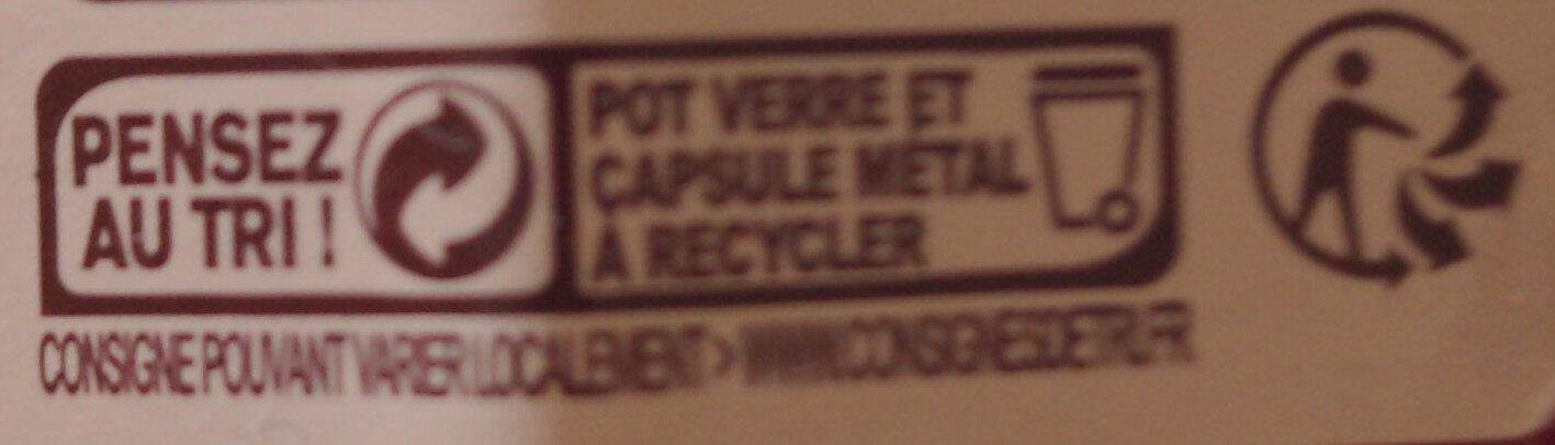 Fraises d'Aquitaine - Instruction de recyclage et/ou informations d'emballage - fr