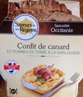 Confit de canard et pommes de terre à la Sarladaise - Produit - fr