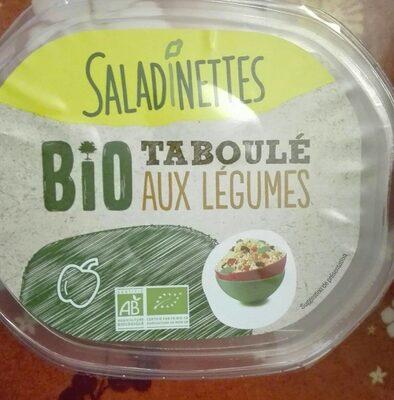 Taboule aux légumes bio - Produit - fr