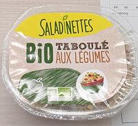Taboulé bio aux légumes - Product - fr