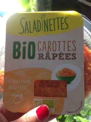 Bio carottes râpées - Produit - fr