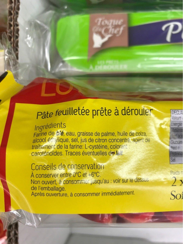 Pate feuillete - Produit - fr