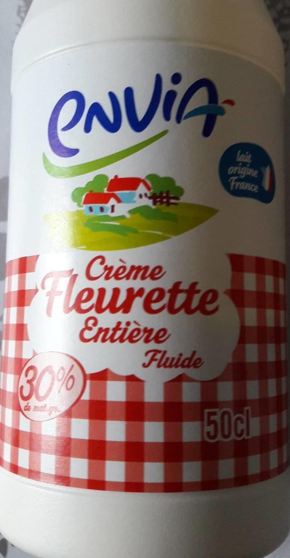 crème fleurette entière fluide 50cl - Produit