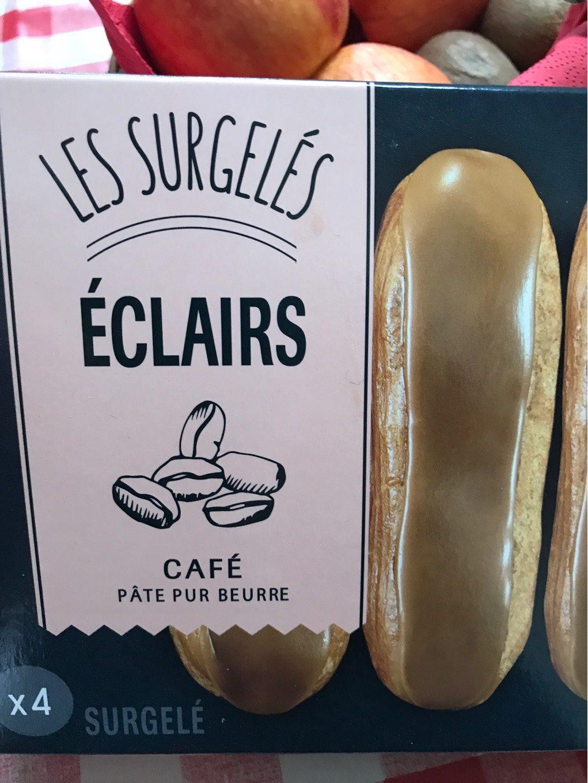 Les Surgelés - Éclairs Café - Produit