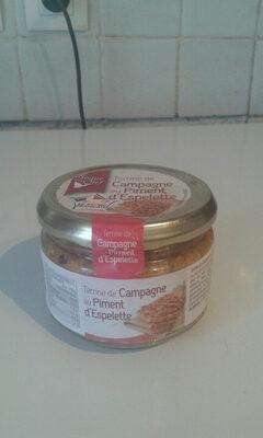 Terrine De Campagne au Piment d'Espelette - Produit
