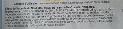 Limande du Nord Meunière - Ingredients