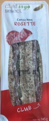 Club sandwich cornichons rosette - Produit - fr
