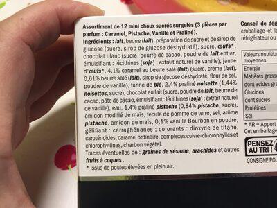Deluxe - Ingrédients - fr