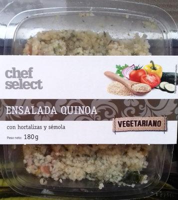 Ensalada Quinoa con hortalizas y sémola - Producte