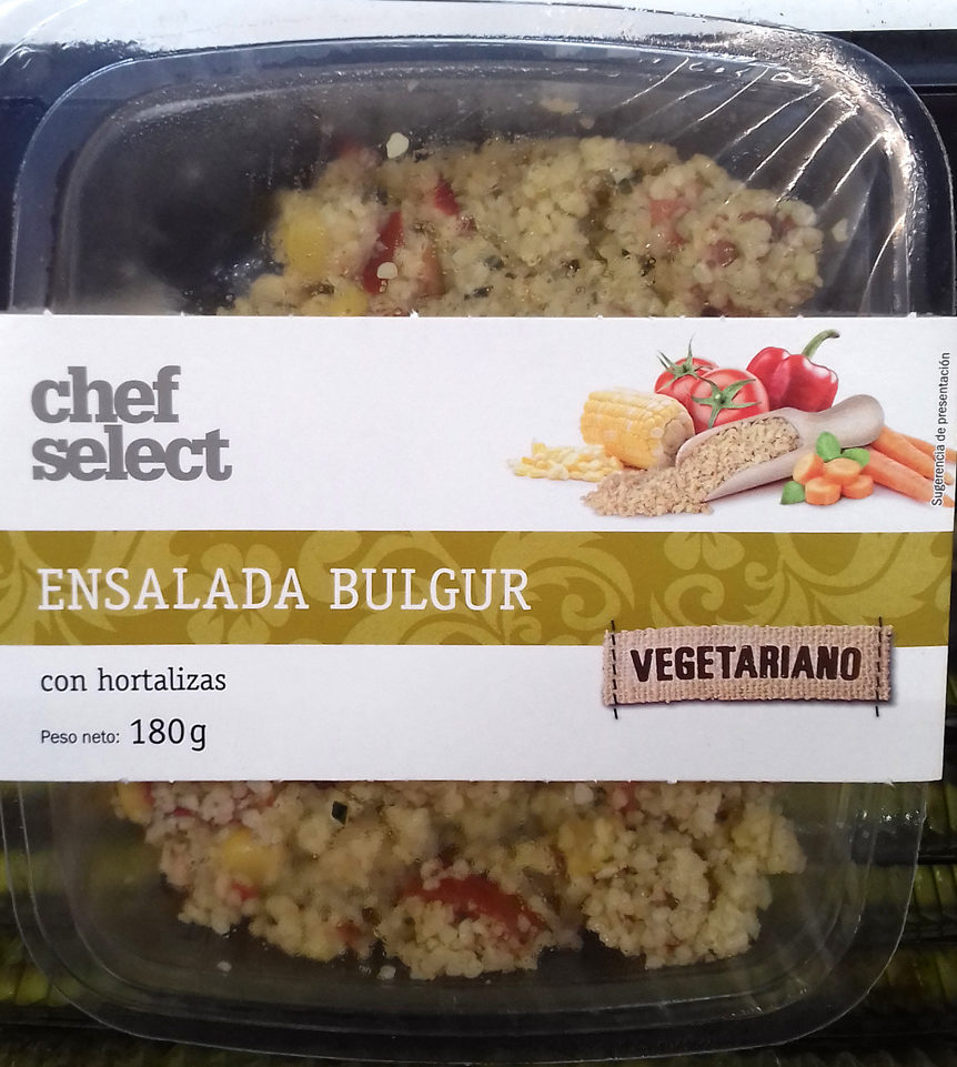 Ensalada bulgur con hortalizas - Producto - es