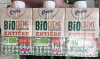 Bio Crème Liquide Entière - Product