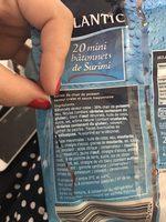 Mini batonnets de surimi - Ingrediënten - fr
