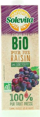Pur jus de raisin bio - Product - fr