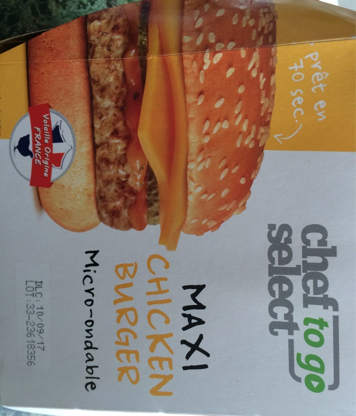 Maxi chicken burger - 产品 - fr