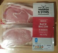 Smoked back bacon - Product
