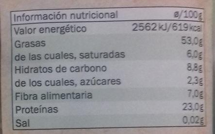 Bio Seed mix - Informació nutricional - es