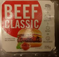 Beef Classic Burger Für Die Mikrowelle - Producto