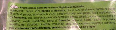 Polpettine vegetali - Ingredients