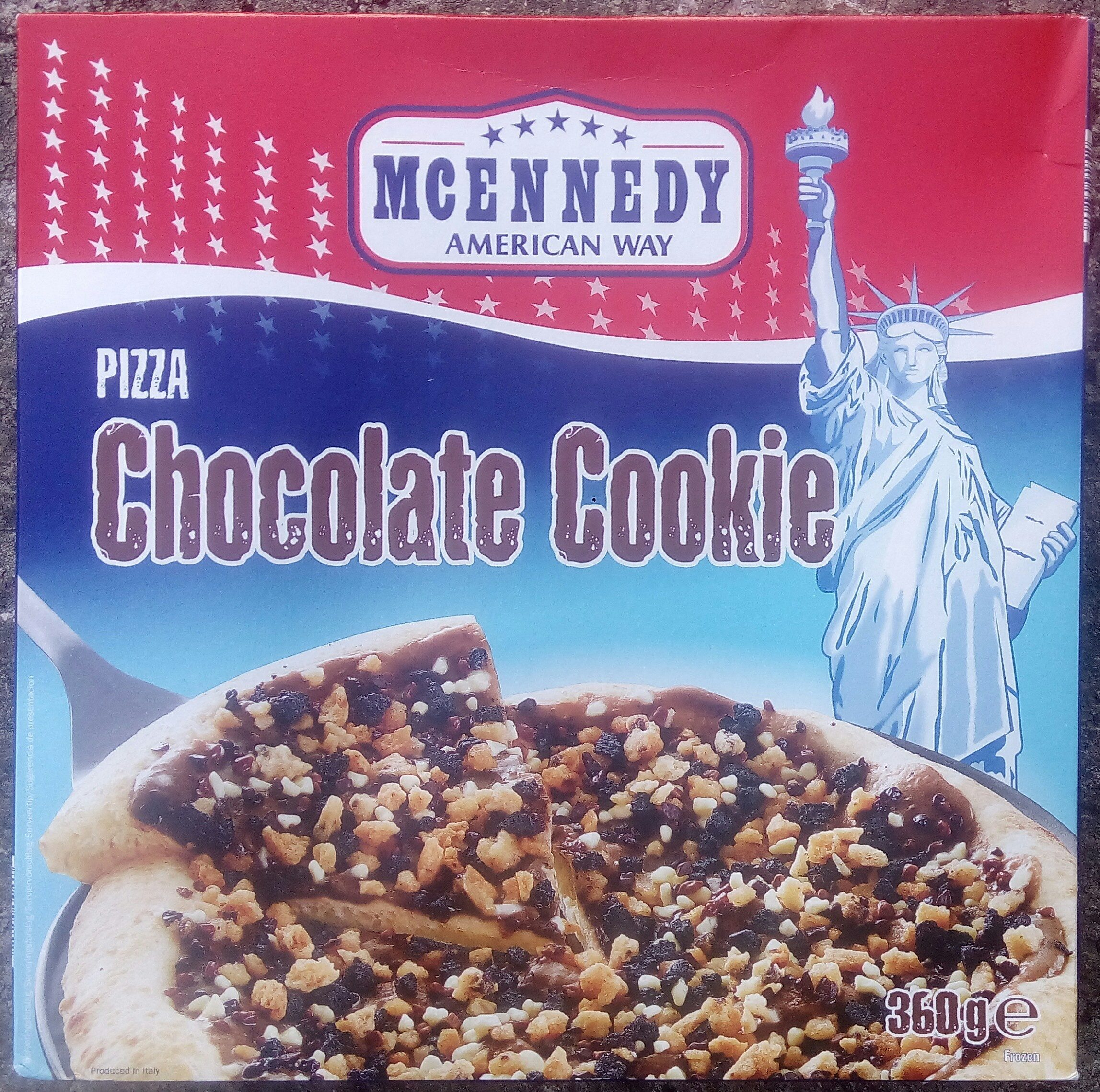 Mcennedy Pizza Chocolate Cookie - Product