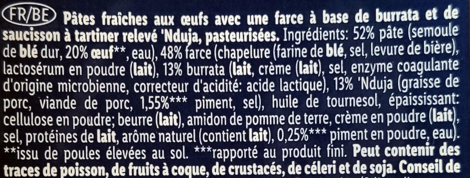 Panzerotti - Ingrediënten - fr