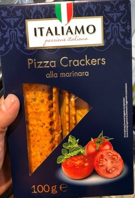 Pizza crackers - Product - fr