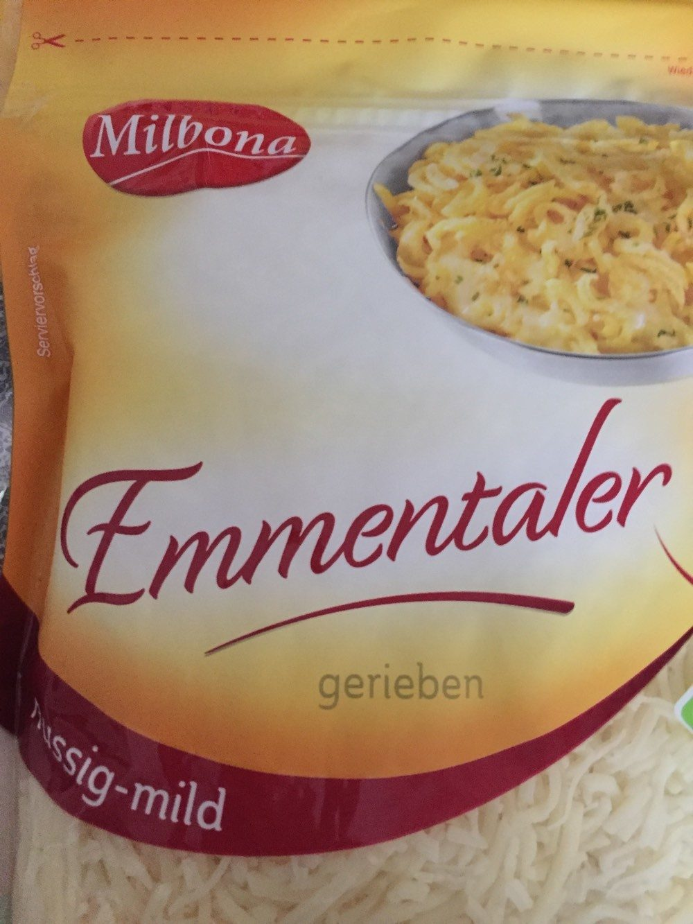 Emmentaler gerieben - Produkt