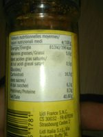Salsa spice mix - Ingrédients