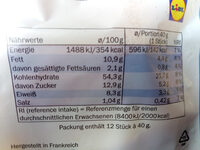 Maitre Jean Pierre Milchbrötchen - Informations nutritionnelles - de
