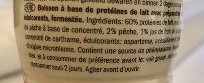 Shyr drink - Ingrediënten
