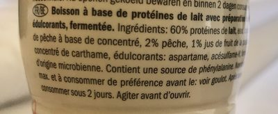 Shyr drink - Ingrediënten - fr