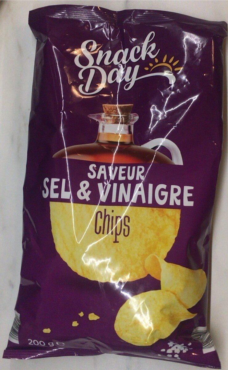 Chips saveur sel et vinaigre - Produit - fr