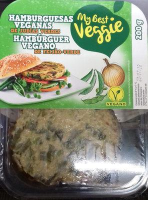 Hamburguesas veganas de judías verdes - Producto