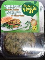 Hamburguer Vegano de Feijão-Verde - Produit - pt